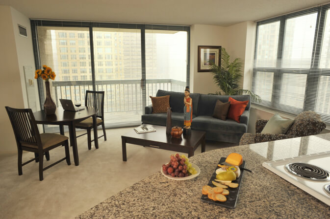 Business Travel Apartments in Chicago