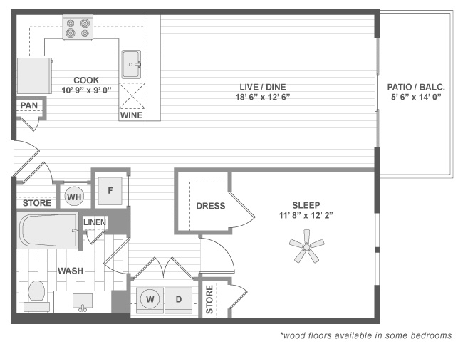 Chicago Suburbs Deerfield Suites Floorplan